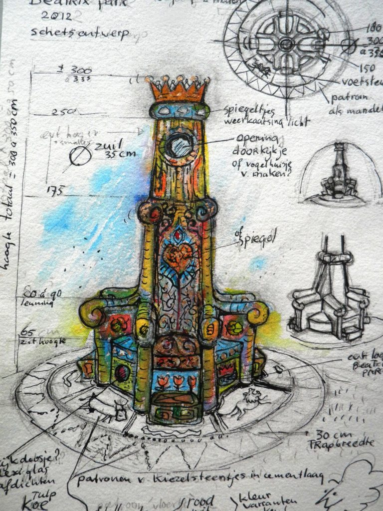 1-beatrixpark-ontwerp-vd-troon-voor-het-beatrixpark-sociaal-kunstproject-horst-ad-maas-november-2011